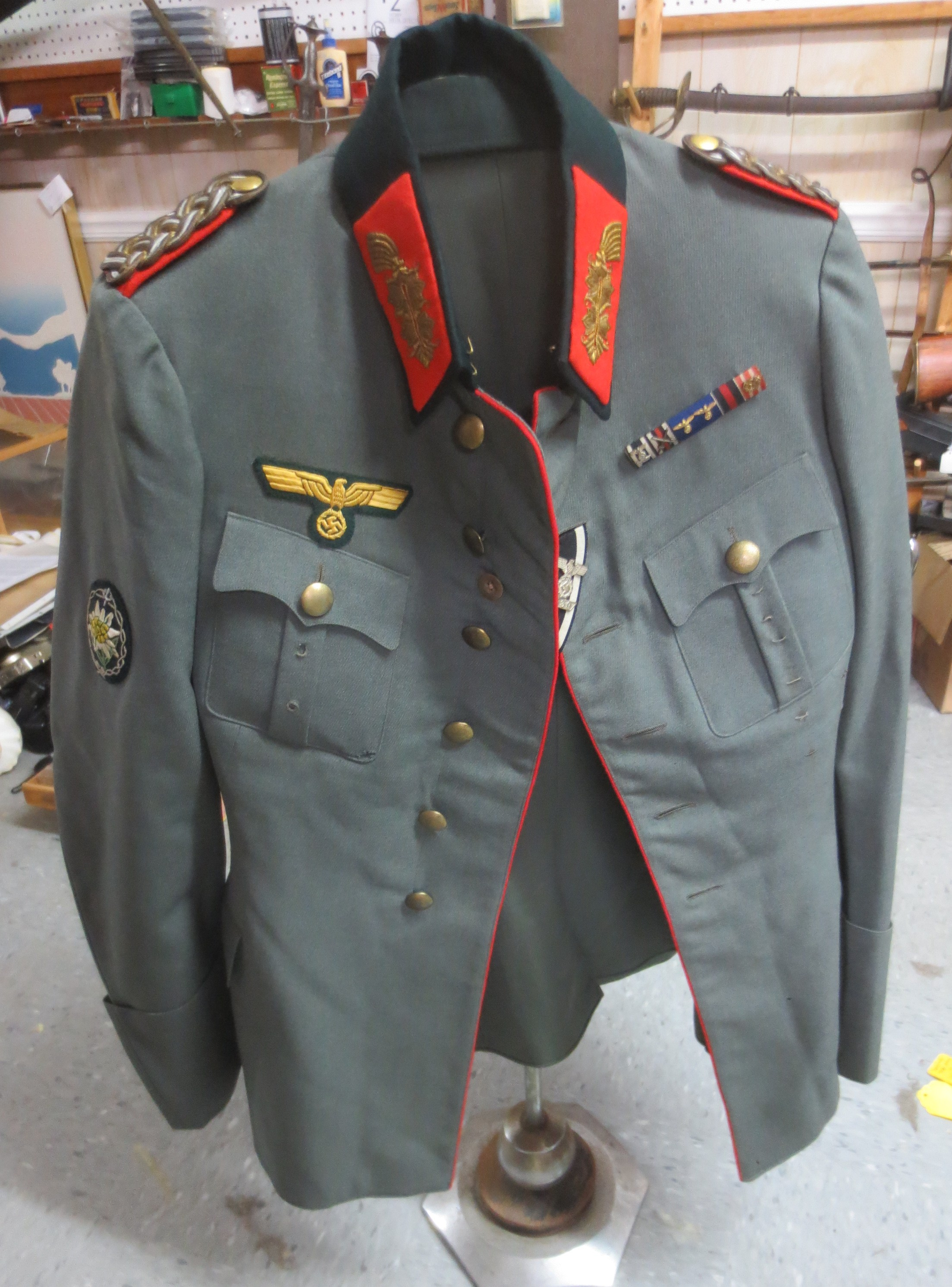 WW2 Tunic of German Lt  General Paul Klatt, pristine!