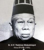 Rajiman Wedyodiningrat (dr. KRT Radjiman Wedyodiningrat, M.Art)