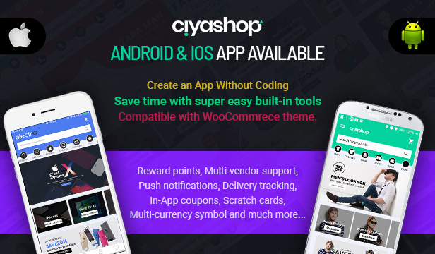 CiyaShop - Responsive Multi-Purpose WooCommerce WordPress Theme - 2