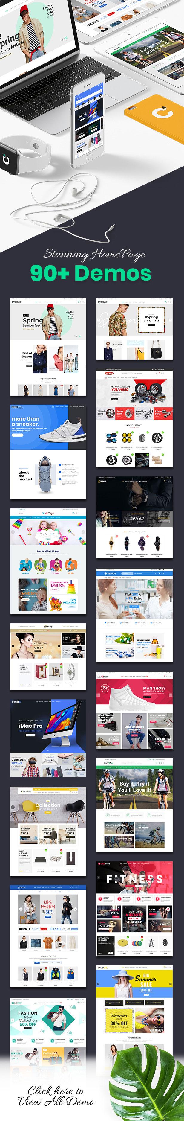 CiyaShop - Responsive Multi-Purpose WooCommerce WordPress Theme - 3