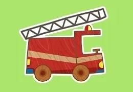 Çocuklar için Arabalar- itfaiye Arabası