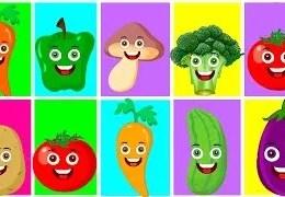 Renkler Sebzeler Meyveler – Eğitici Çizgi Film Bebek Şarkıları