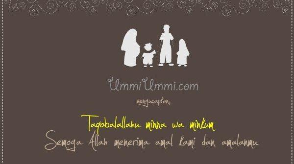 kartu ucapan lebaran ummiummi.com