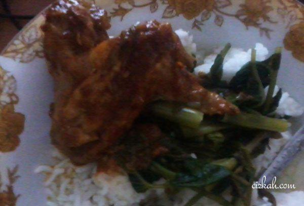 resep ayam bakar petis