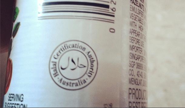Label halal Australia