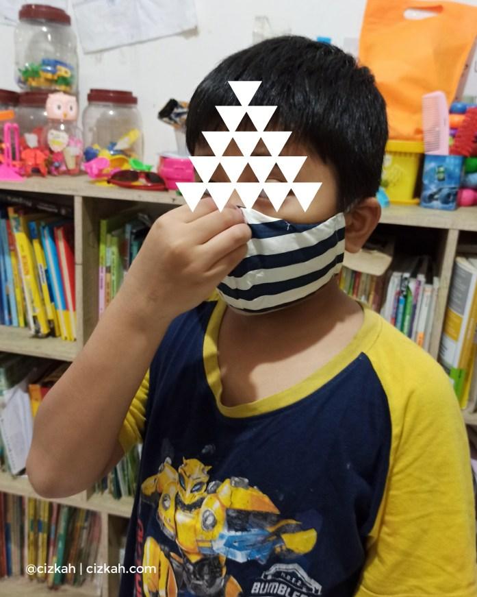 Masker homemade model n95