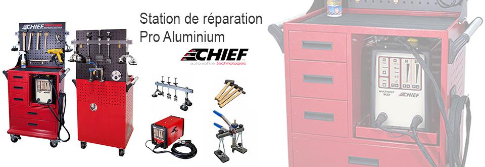 Soudure – Station de réparation Pro Aluminium (Chief)