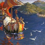 Vikings In Spain: Nicholas Roerich, Guests From Overseas