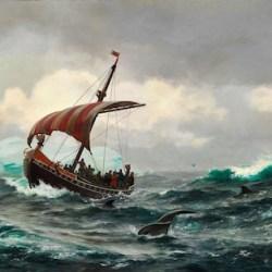 I. E. C. Rasmussen Sommernat, Vikings In Greenland, Vikings In America