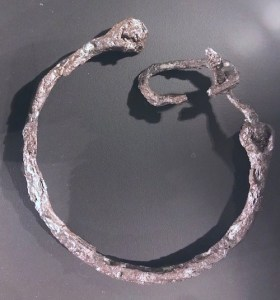 viking iron neck collar for slaves