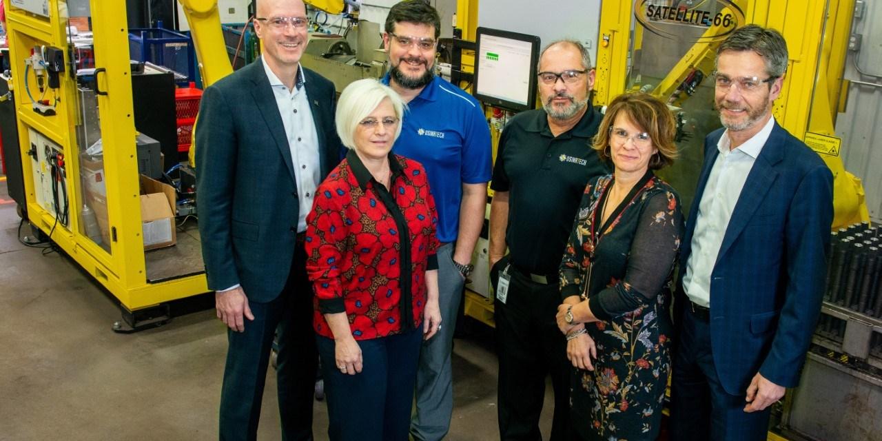 Québec appuie la modernisation de l'entreprise Usinatech