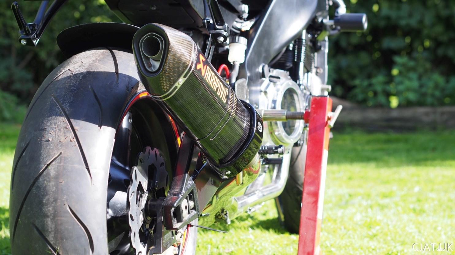 RF900 exhaust tyre