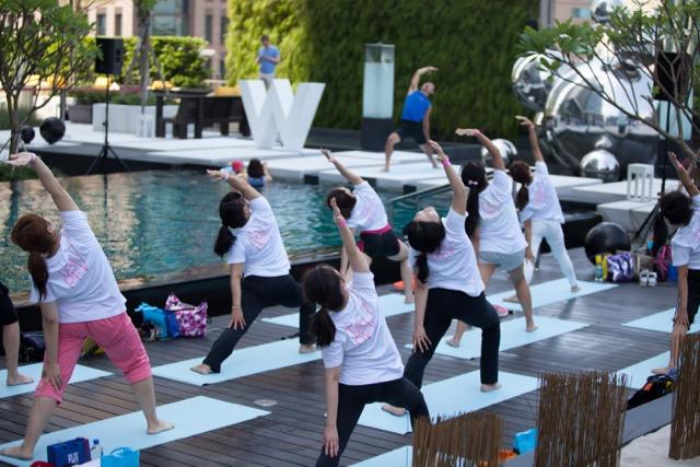 台北W飯店邀請您一起做瑜珈、獻公益 002