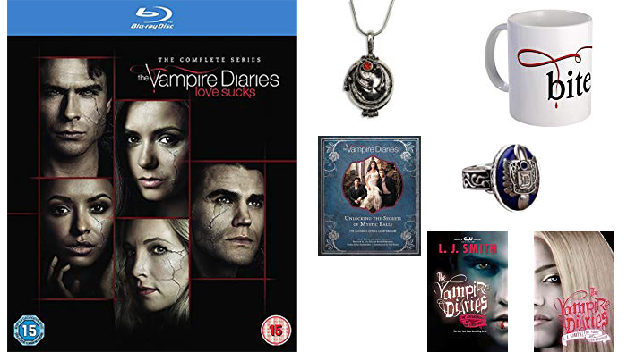 The Vampire Diaries giveaway prize pack part 1