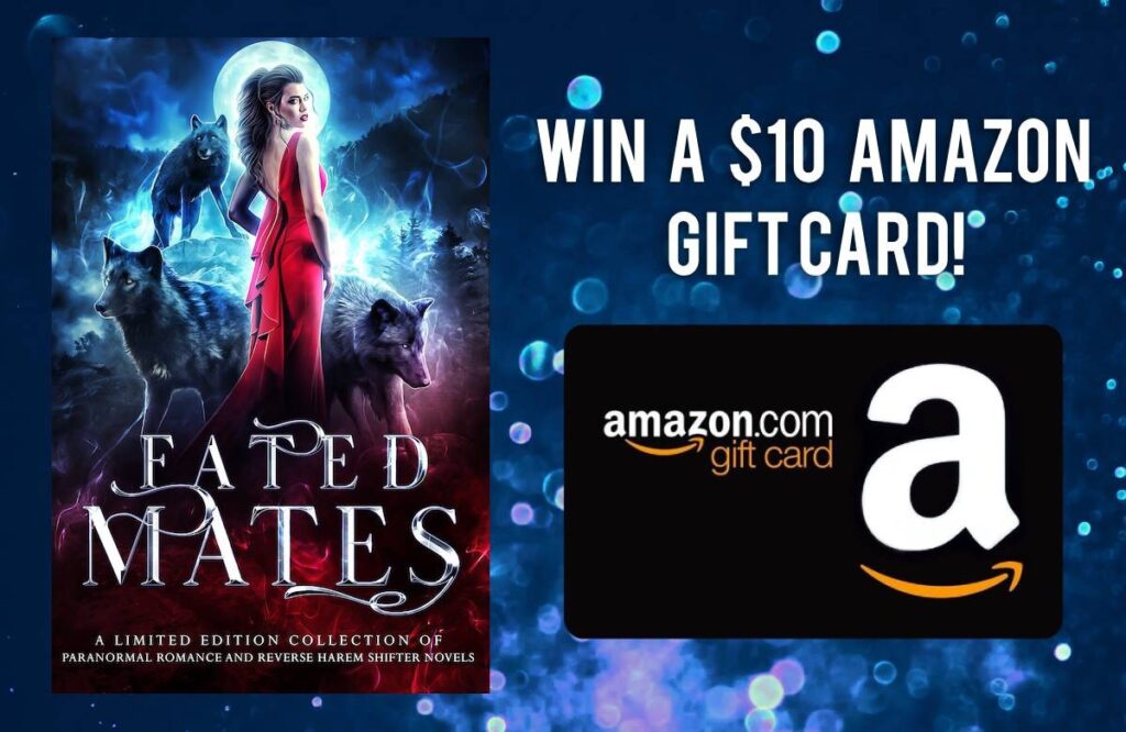 1 Winner - 8 Ways to Enter | Fated Mates Giveaway