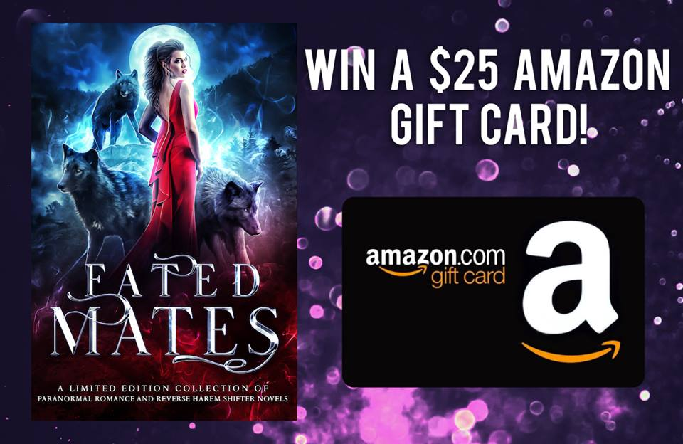 Win a $25 Amazon Gift Card from the Fated Mates Team