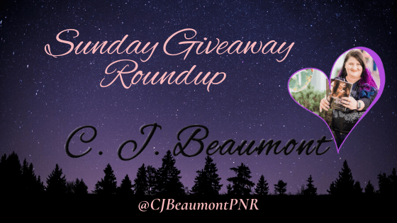 Sunday Giveaway Roundup Banner