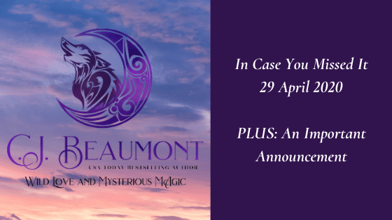 In Case You Missed It – 29 April 2020