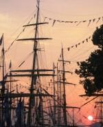ships at sunset 1