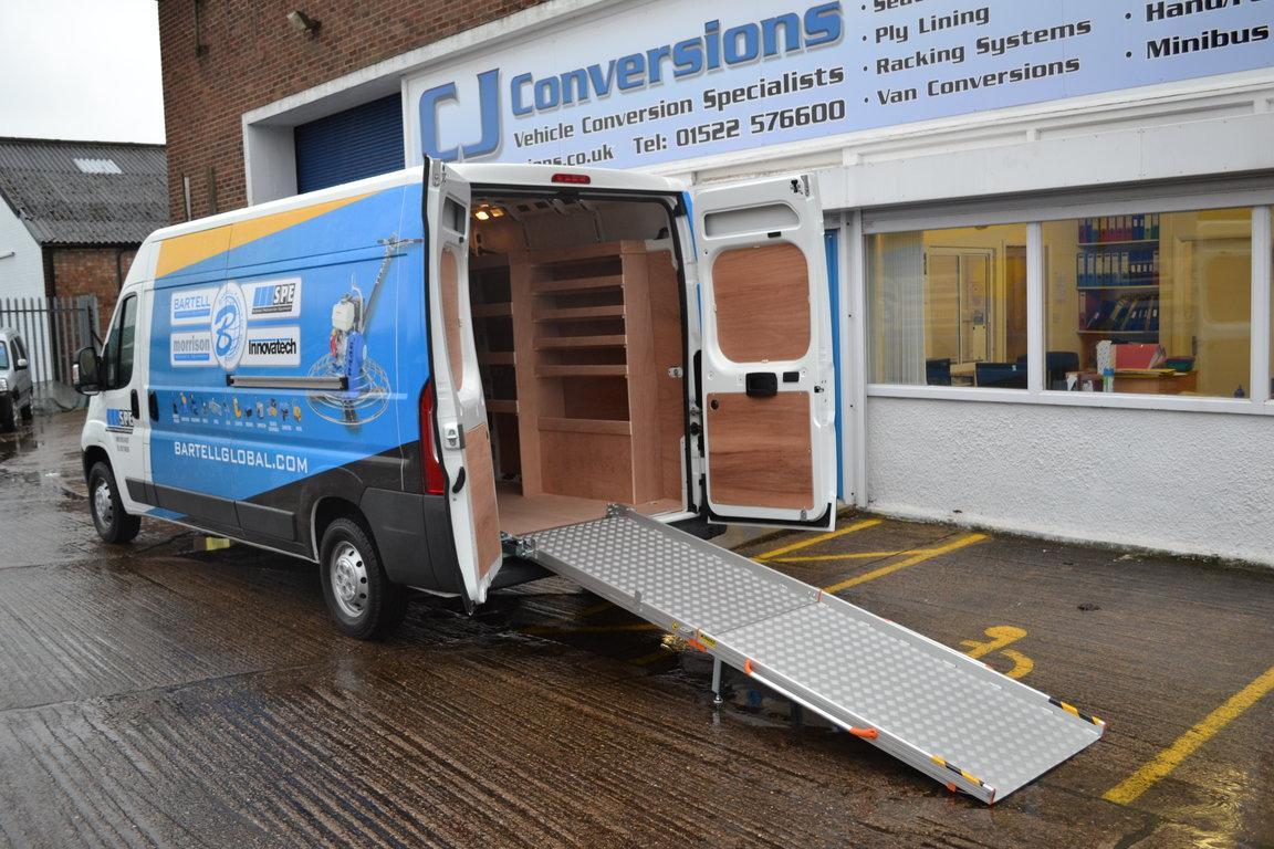 Custom Shelving Van Conversions