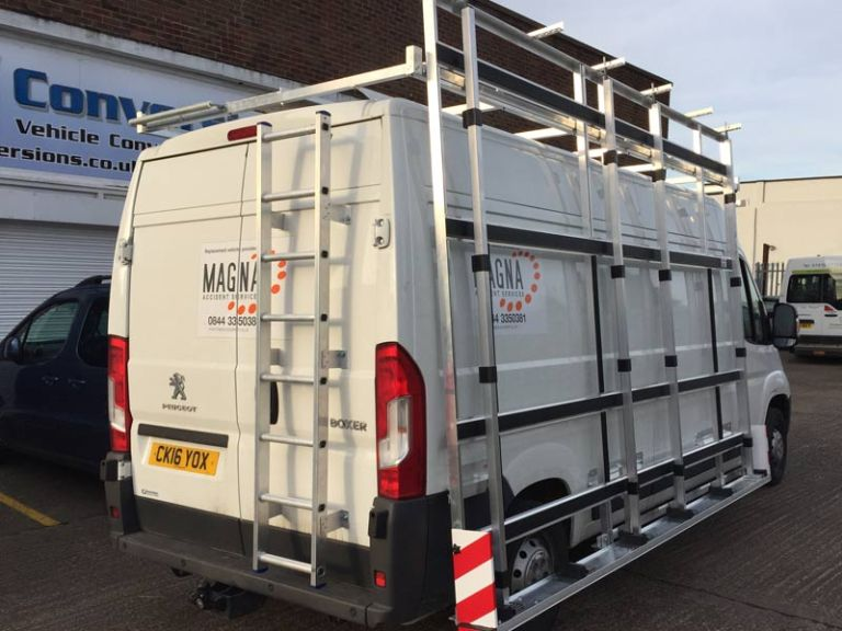 Glass Rack Commercial Vehicle Adaptation