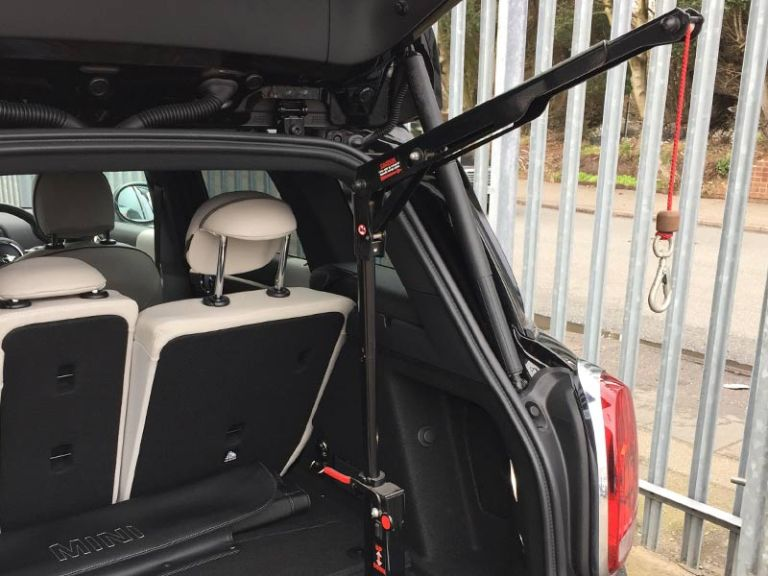 Manual Wheelchair Hoist Vehicle Adaptation