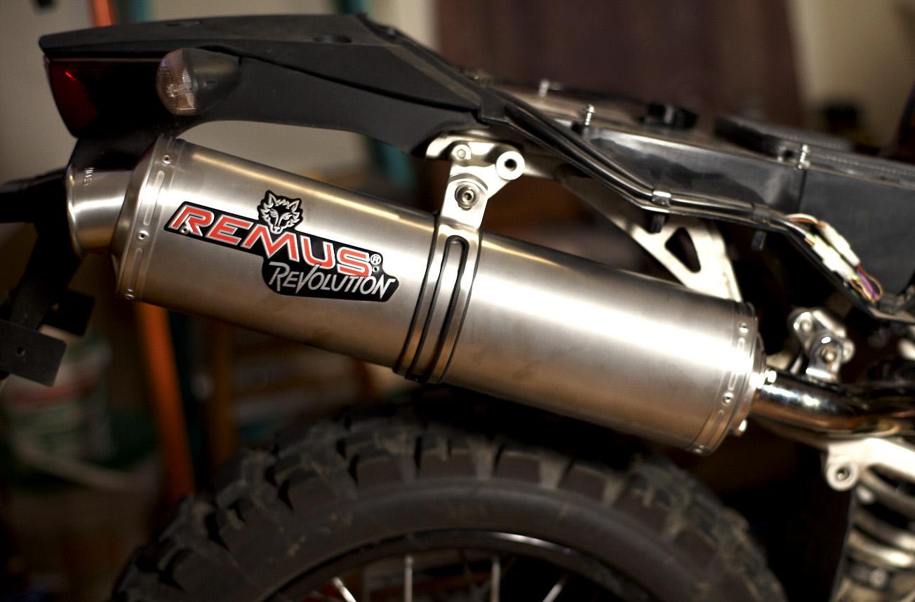https petriemotorsports wordpress com 2011 08 03 remus revolution titanium silencer w 2 into 1 cjdesigns adapter