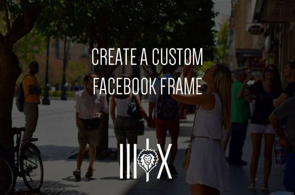 custom facebook frame featured image