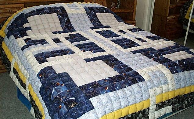 Y2K Handmade Pillow Quilt
