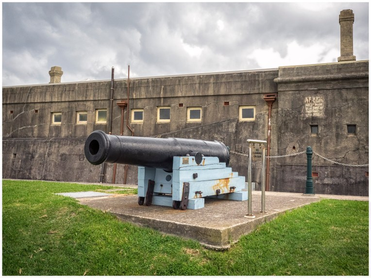 Fort Scratchley canon