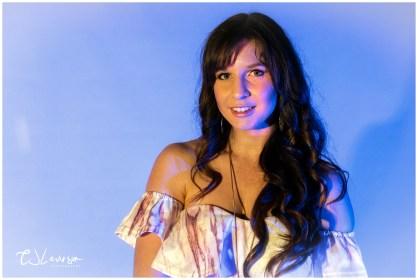 Coloured Gels Portrait Shoot-10