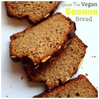 Quick and Easy Banana Bread {Vegan + Gluten Free}