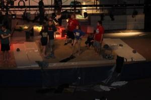 Photo of students rehearsing