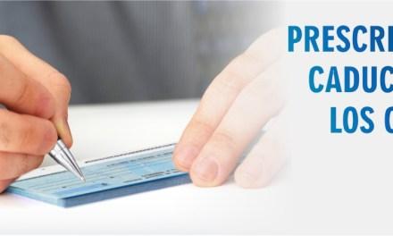 Prescripción y caducidad de los cheques