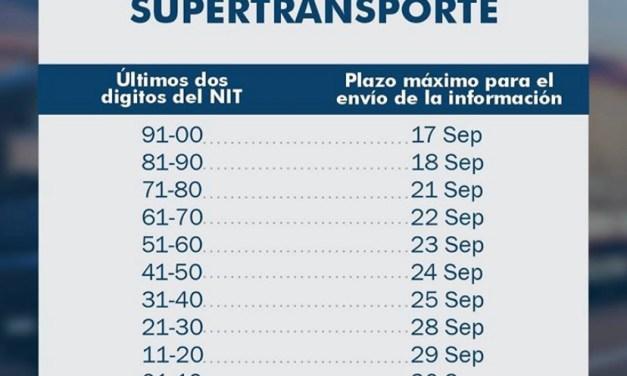Calendario SuperTransporte