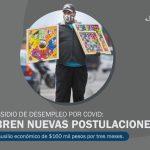 Subsidio de desempleo por covid: abren nuevas postulaciones
