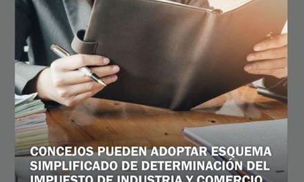Concejos pueden adoptar esquema simplificado de determinación del impuesto de industria y comercio