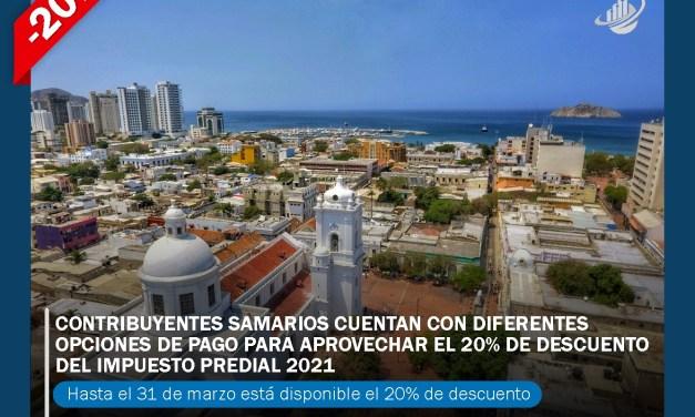 Contribuyentes samarios cuentan con diferentes opciones de pago para aprovechar el 20% de descuento del impuesto predial 2021