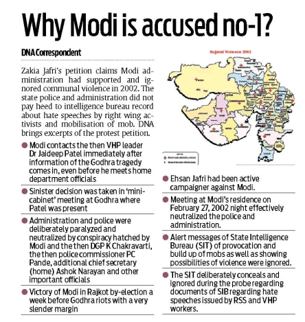 Why Modi is accused no-1.