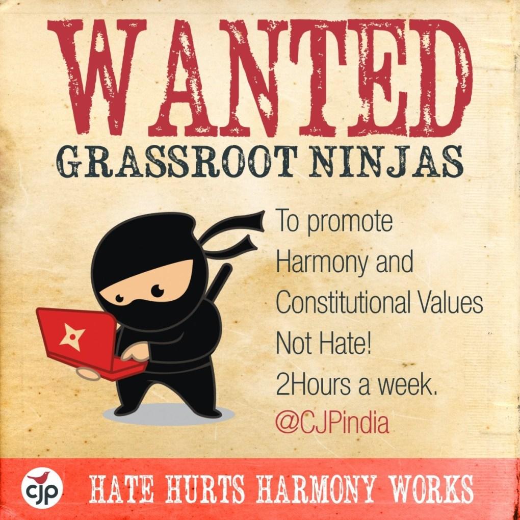 Become a Grassroot Ninja
