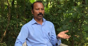 Prakash Bhoir, an adivasi who says conservation is in the culture of his people