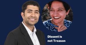 Dissent is not treason