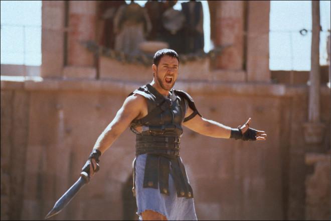"Film ""Gladiator"" In United States In May 2000-"