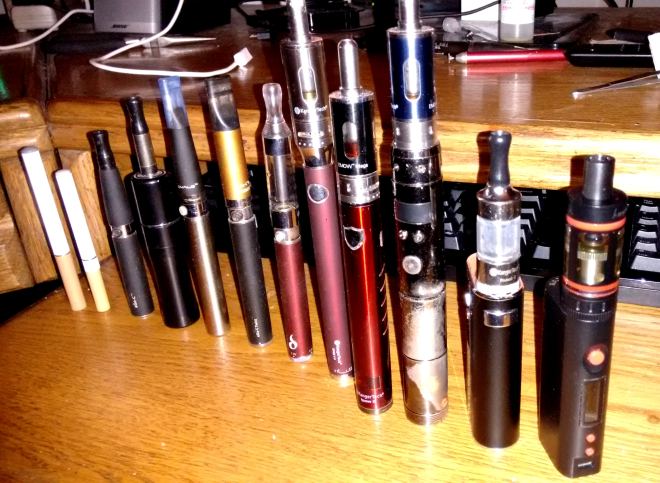 The evolution of my vaping experience