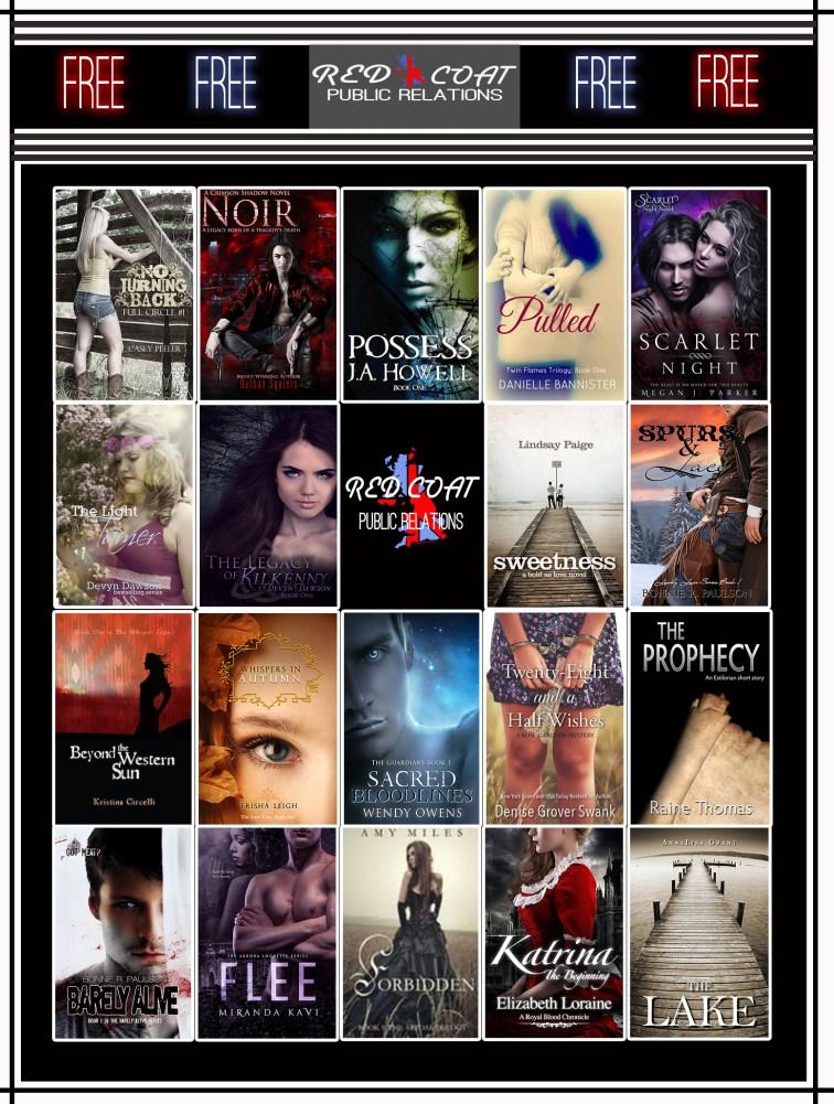 Red Coat PR Free Book Teaser