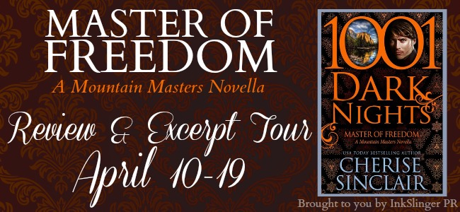 Master of Freedom Review & Excerpt Tour -  banner