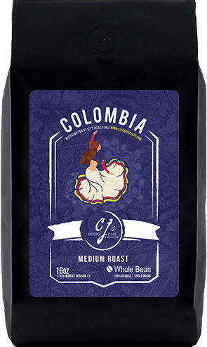 CJs Coffee Cafe - Colombia Beans