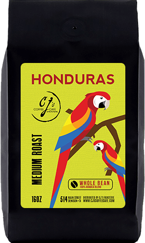 CJs Coffee Cafe - Honduras Beans