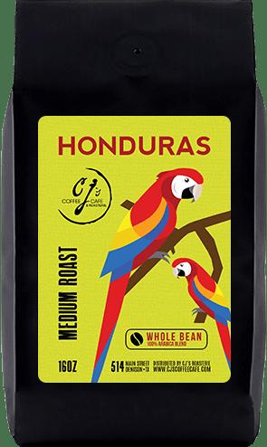 CJs Coffee Cafe - Honduras Beans