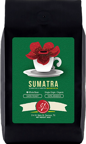 CJs Coffee Cafe - Sumatra Beans
